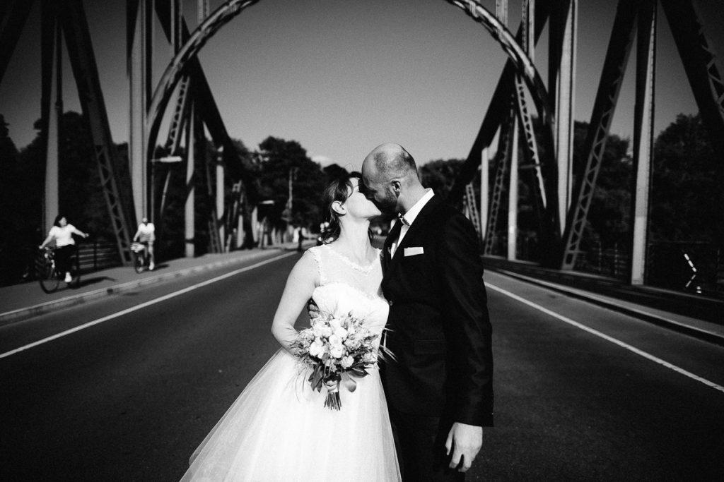 Hochzeit auf der Glienicker Brücke