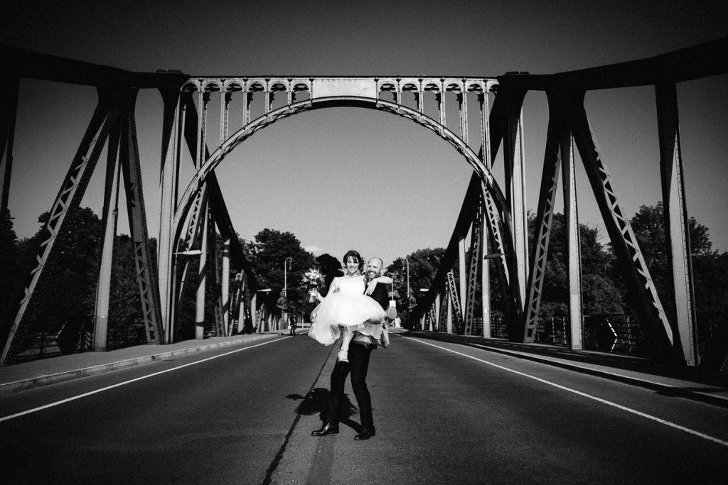 Paarshooting auf der Glienicker Brücke in Potsdam