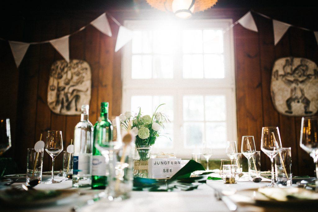 Tischdekoration Hochzeit Potsdam