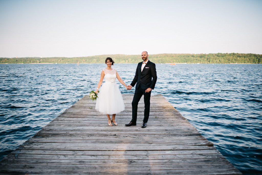 Hochzeit am Wasser in Potsdam