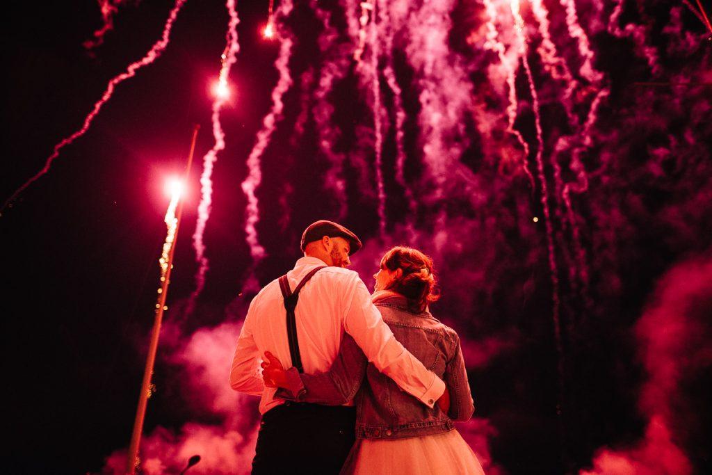 Hochzeitsfeuerwerk in Potsdam