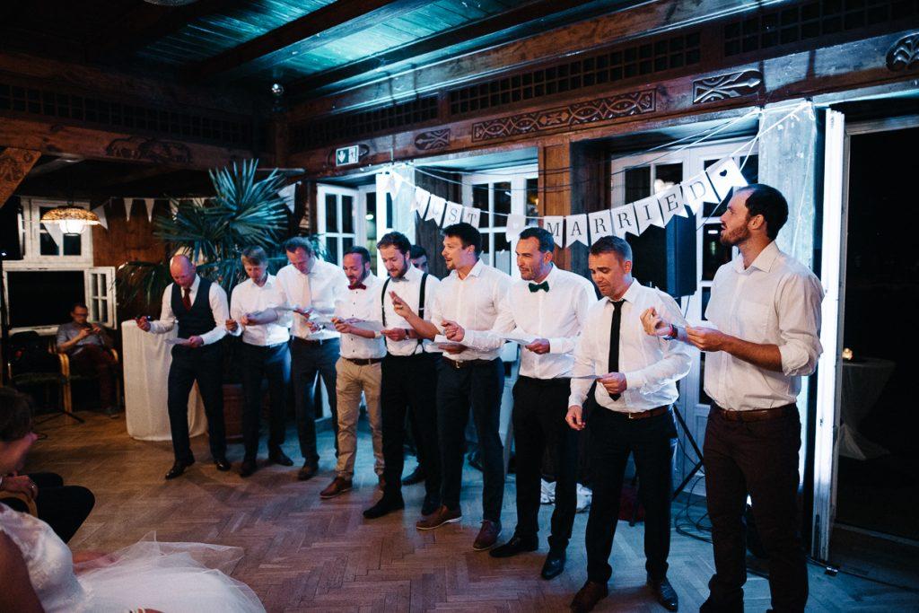 Ständchen auf der Hochzeit