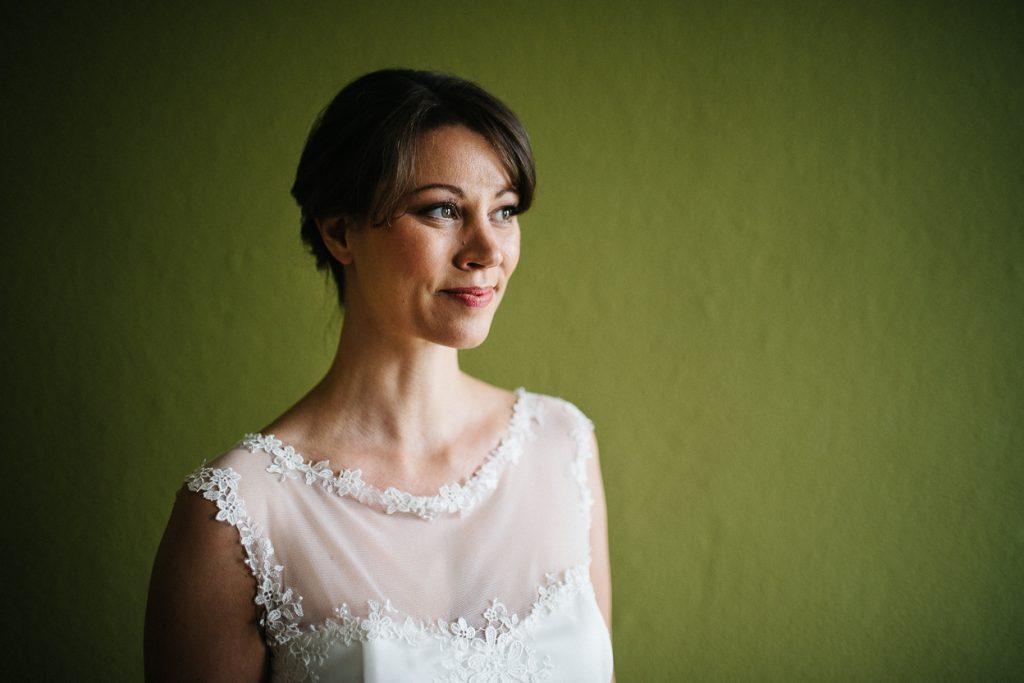 Braut bei einer Hochzeit in Potsdam