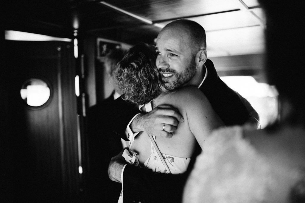 Glückwünsche bei der Hochzeit