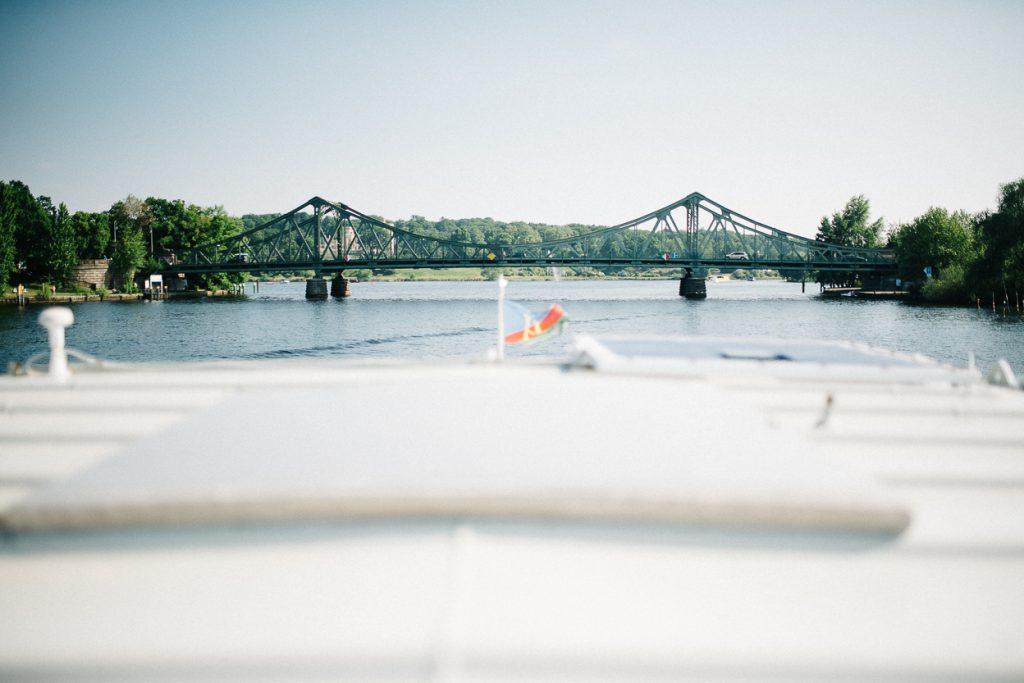 Glienicker Brücke zur Hochzeit in Potsdam