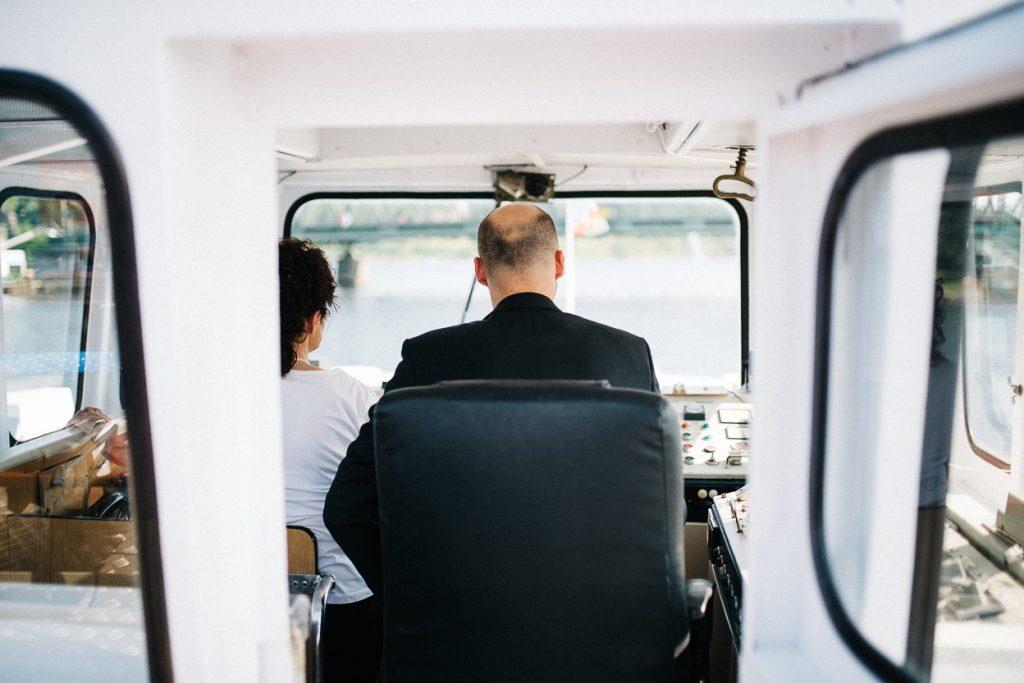 Hochzeit auf dem Wasser in Potsdam